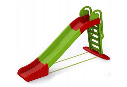 Kinderrutsche Gartenrutsche Rutsche Leiter Garten Outdoor 243 cm lang Bis 40 kg (Grün #E06755)