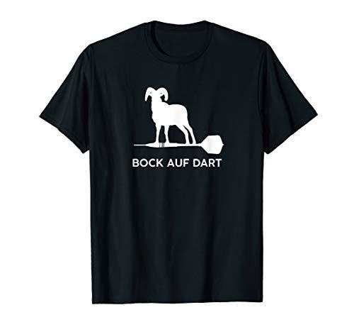 Bock Auf Dar Lustiges Darts Dartpfeil Geschenk Zubehör T-Shirt