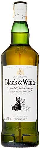 Whisky Black & White, 1L