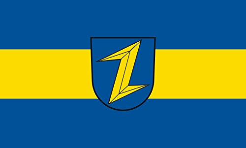 Unbekannt magFlags Tisch-Fahne/Tisch-Flagge: Wolfach 15x25cm inkl. Tisch-Ständer