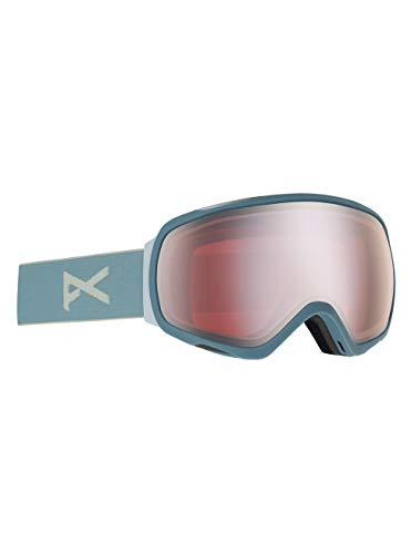 Anon Damen Tempest Snowboard Brille, Slate/Sonar Silver