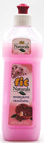 fit Naturals Mandelblüte-Granatapfel Geschirrspülmittel, 24er Pack (24 x 500ml)