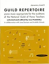 Guild Repertoire, Piano Music Appropriate for the Auditions of the National Guild of Piano Teachers, Elementary B
