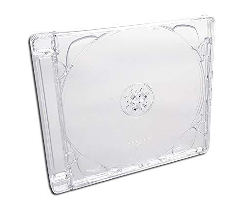 CD Super Jewel Box New Hinge (25 Stück)
