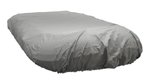 Newport Vessels UV Resistant Inflatable Dinghy Boat Cover, Grey, 9-10-Feet