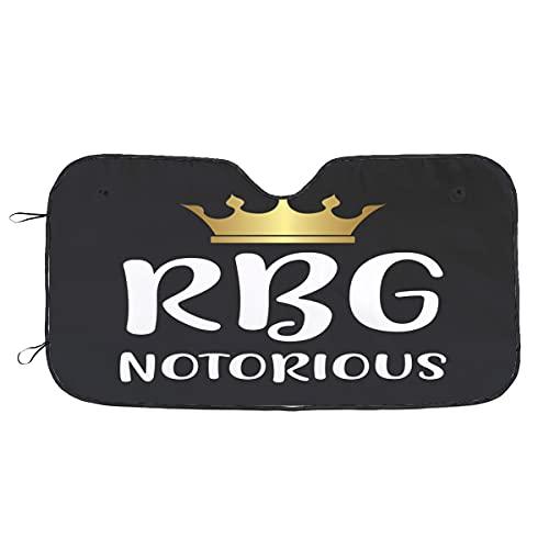 niaoyun RBG - Parasol plegable para parabrisas de coche, con rayos UV, para la mayoría de los sedanes y camiones