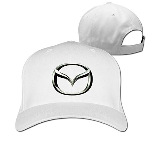 New Personalized Silver Mazda Logo Geek 100% Cotton Cricket Cap for Mans Casquette Black,Hüte, Mützen & Caps