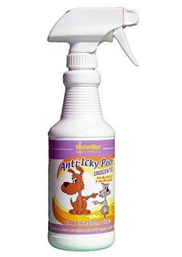 Mister Max Anti Icky Poo Unscented Odor Remover (Pint), White (AIP-OR-P)