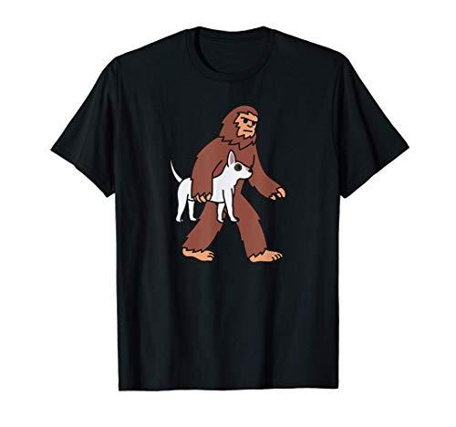 Pie Grande Bull Terrier Inglés Perro Camiseta