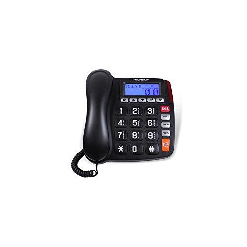 Thomson FILY/SAFY - Teléfono, Color Negro