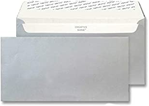 silver dl envelopes