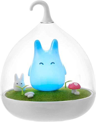 Nachtlicht für Kinder, Studio Ghibli Hayao Miyazaki Mein Nachbar Totoro Nachtlicht, Wiederaufladbarer, Intelligenter Berührungssensor, Dimmerlampe Tierlicht Weihnachten