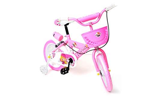 Bicicleta Da Turma Rosa Aro 14´ Uni Toys 1500