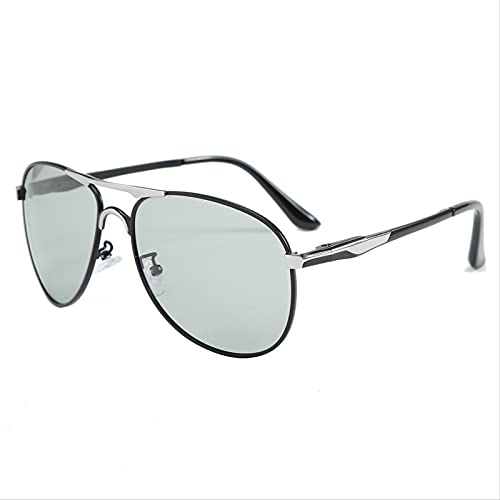 ODNJEMSD Occhiali da Sole Polarizzanti Uv400 Occhiali da Sole Scoloriti Uomo 2021 Nuovi Uomini alla Guida di Occhiali da Sole Polarizzanti Tendenza Occhiali da Sole