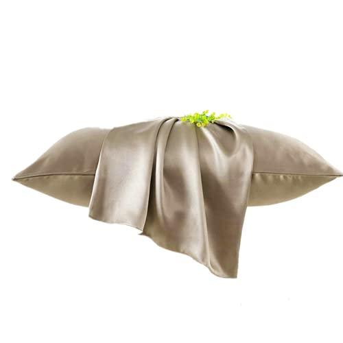 hwqjr Luxury 100% Silk Noble Fodera Capelli sani setili 25 Momme Cuscino di Seta per Donne Uomini Adulti Bambino