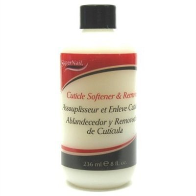 Super Nail Cuticle Softener & Remover 8oz. (3 Pack) by Super Nail