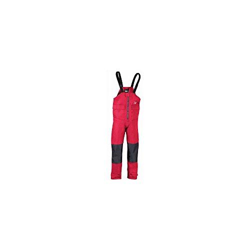 Marinepool Segel-Latzhose Hochsee Hobart für Herren - rot rot XXL