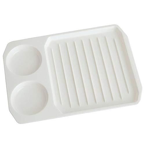 ZengBuks Kreative Mikrowelle Speck Eierkocher Bacon Backblech Speck Backen Utensilien Mikrowelle Backform Küche Lieferungen - Weiß