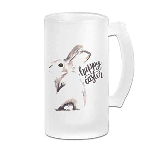 Sketch Is Happy Easter Wear - Jarra de cerveza resistente con vasos anti pintas Vasos de cerveza