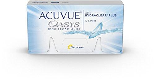 Acuvue Oasys for Astigmatism 2-Wochenlinsen weich, 12 Stück / BC 8.6 mm / DIA 14.5 / CYL -1.75 / Achse 10 / 1 Dioptrien