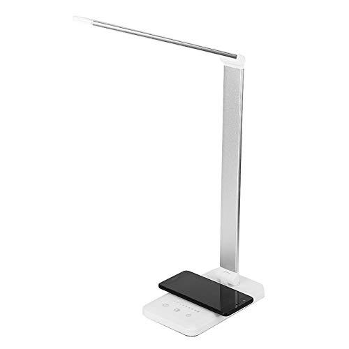 WWWL Lámpara Escritorio 2A LÁMPARA de Mesa USB LED Leer lámpara de Escritorio Mesa de Oficina del Estudiante Plegable portátil Noche de Noche de Mesa Regulable luz