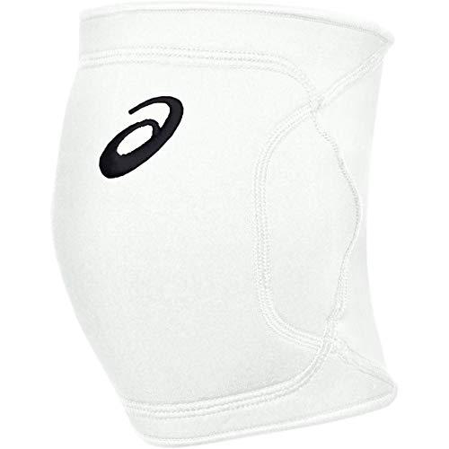 ASICS Unisex-Erwachsene Gel-Conform II Volleyball Knieschoner, Unisex-Erwachsene, Gel-Conform Ii Volleyball Kneepad, Team White, Large/X-Large