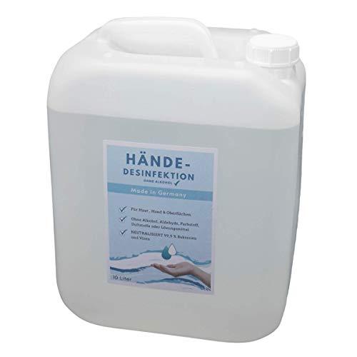 NEU 10 L Desinfektionsmittel Hände Flächen Haut Oberflächendefinition Germany