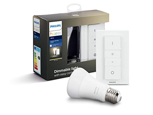 Hue White E27 Wireless Dimming Kit 1x806lm Bluetooth, dimmer