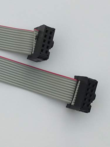 IDC Flachbandkabel Pfostenbuchsen 10-polig 1,5m für ISP Atmel AVR STM ARM JTAG Programmer