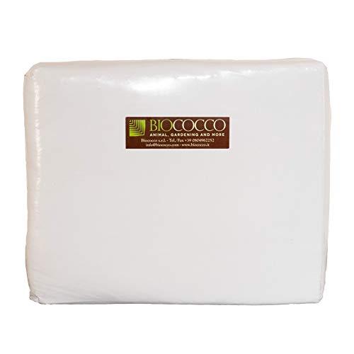 Biococco Bedding Lettiera pronta all'Uso derivata dalla Noce di Cocco Confezione Singola da 12,5 kg Pari a 100 Litri