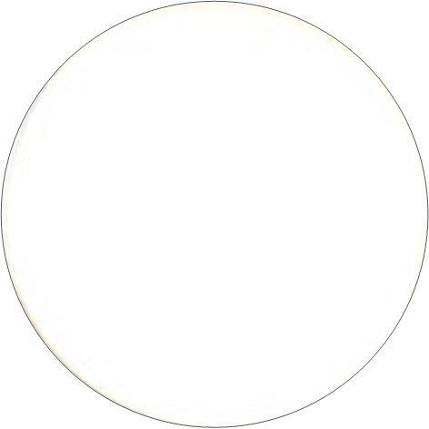 Unity Cosmetics ombretto bianco (refill), ipoallergenico, senza parabeni e senza profumo