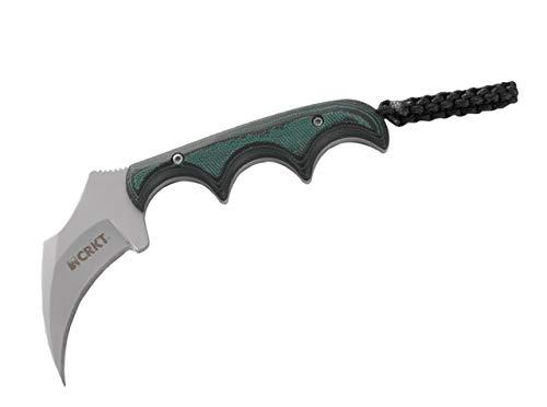 Columbia River Knife & Tool Fahrtenmesser CRKT Keramin, grün, STANDARD