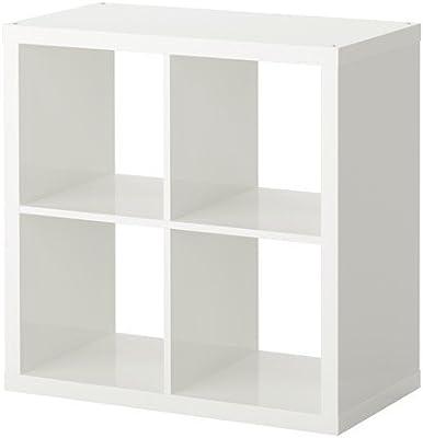 Kallax Estantería de IKEA Librería, cestas o boxes-77 X 77 cm (Brillante
