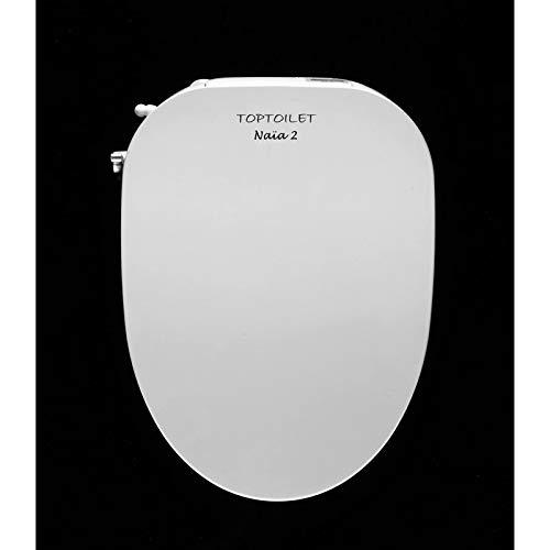 Toptoilet - Abattant WC Japonais sans électricité Naïa Modèle - Naïa Version 2