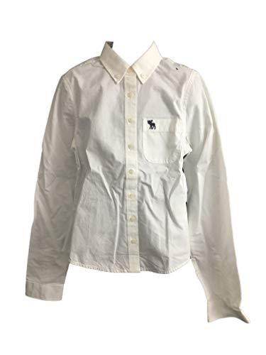 Abercrombie Kids Girl Camisa Manga larga blanco Small