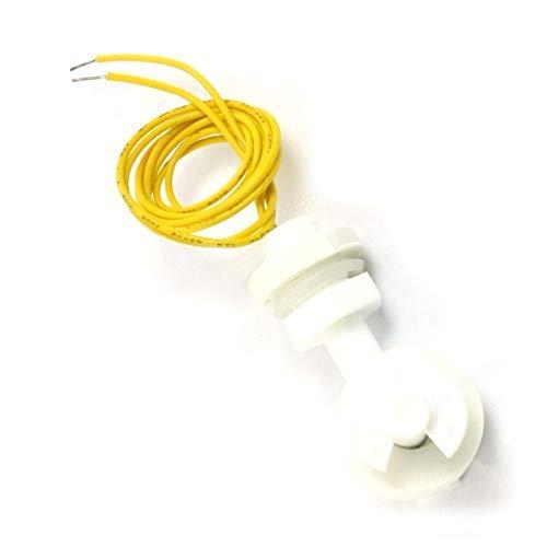 ZOZOZOSEP ZPC1 - Juego de 2 recipientes de polipropileno con sensor de espejo de agua líquido, ángulo recto