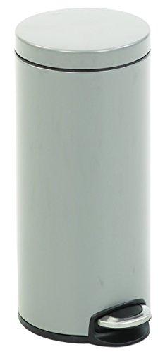 EKO 8713631712502 Poubelle à Pédale Métal Inox 36,6 x 29,2 x 65 cm