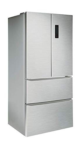 FRIGORIFICO FRANCES FRD-801X INOX INFINITON (Side by Side Americano, 408 litros, Alto 181cm, INVERTER A++, Independiente)