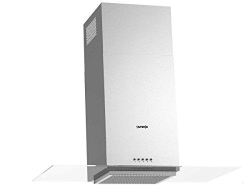 Gorenje WHGS 923 E15X Kamin-Dunstabzugshaube/67 kWh/jahr/90 cm/SmartCurve/LED Beleuchtung/SuperSilent/Anti-Fingerprint-Beschichtung/edelstahl