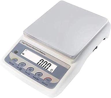 RTYUI Básculas electrónicas Básculas de pesaje digitales de cocina de alta precisión Básculas industriales con pantalla LCD Tare Zero Función Para Cocina Hornear Pan Café Pesaje Medicinal Etc (Tamaño