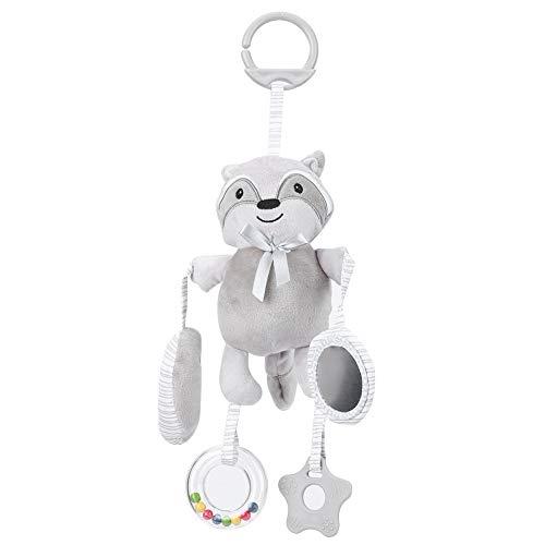 Juguete de campana colgante, juguete de muñeca infantil, cochecito de mordedor suave inofensivo para bebé(Civet cat)
