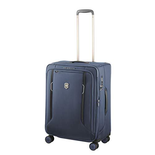 Victorinox Werks Traveler 6.0 Medium Softside Spinner Suitcase, 24-Inch, Blue