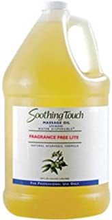 Soothing Touch174; Fragrance Free Lite Oil, 1 Gallon