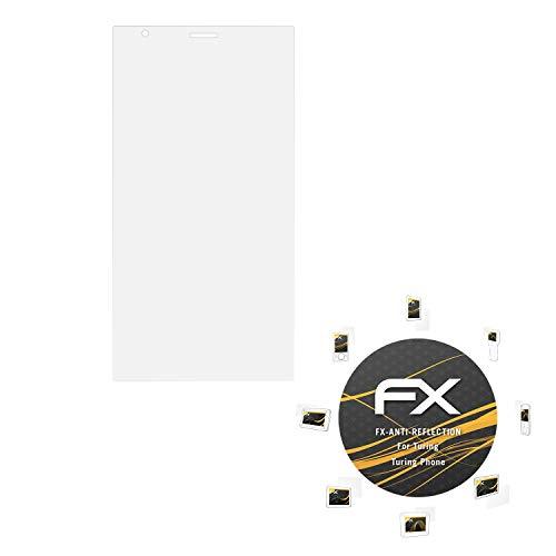 atFolix Panzerfolie kompatibel mit Turing Turing Phone Schutzfolie, entspiegelnde & stoßdämpfende FX Folie (3X)