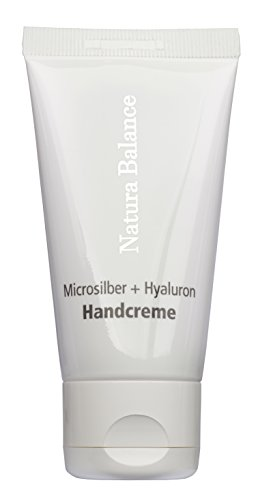 100ml Handcreme Microsilber + Hyaluron Microsilver Hyaluronsäure Vitamin E Panthenol Mikrosilber