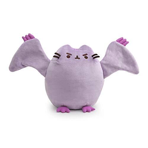"GUND Pterodactyl Pusheen Dinosaur Cat Plush Stuffed Animal, Purple, 9"""