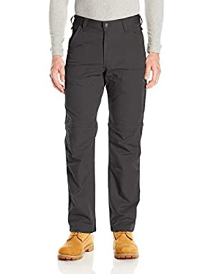 Carhartt Mens Force Extremes Convertible Pant, Shadow, 33W X 30L