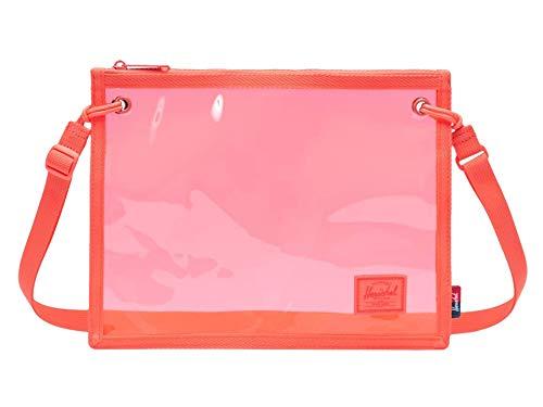 Bolsa de Cintura Herschel Alder Hot Coral - Clear Bags