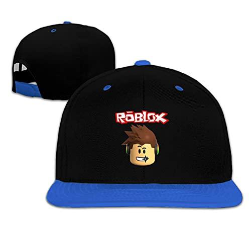 Roblox Kid Mesh Hat Gorra de béisbol Niños Niñas Impresión Ajustable Snapback Hip Hop Flat Sombreros