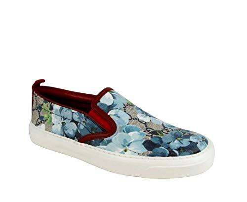 Gucci Blue Bloom Supreme 546150 8469 – Zapatillas de Lona para Mujer (36,5 g/6,5 US)